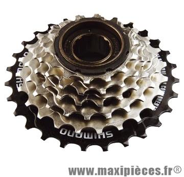 Roue libre 6  vitesses hg 14-28 dents (ty22) marque Shimano - Matériel pour Vélo