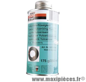 Liquide vulcanisant 175g (bidon) - Accessoire Vélo Pas Cher