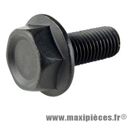 Vis boitier de pédalier/manivelle d8x100 hexagonale a embase (x1) - Accessoire Vélo Pas Cher