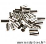 Déstockage ! Boîte de 150 embouts de gaine 4mm inox Alhonga
