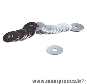 Rondelle acier 5x12 (boite de 100) - Accessoire Vélo Pas Cher