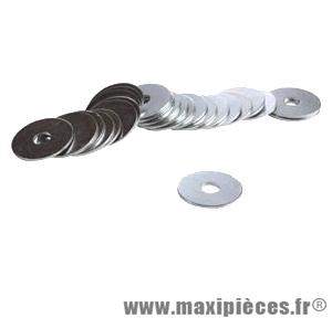 Rondelle acier 6x12 (boite de 100) - Accessoire Vélo Pas Cher