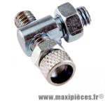 Barillet réglage vis tendeur frein d 5 (x1) - Accessoire Vélo Pas Cher