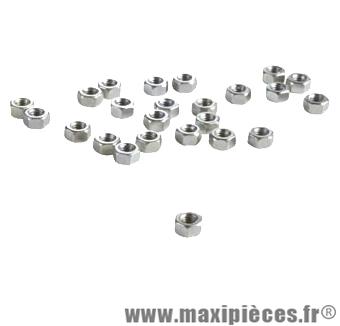 Ecrou 6 pans d 5/16x26 bsc (boite de 100) - Accessoire Vélo Pas Cher