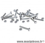 Boulon 6 pans 5 x 10 (boite de 100) - Accessoire Vélo Pas Cher