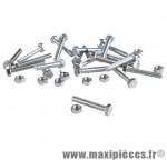 Boulon 6 pans 7 x 60 (boite de 100) - Accessoire Vélo Pas Cher
