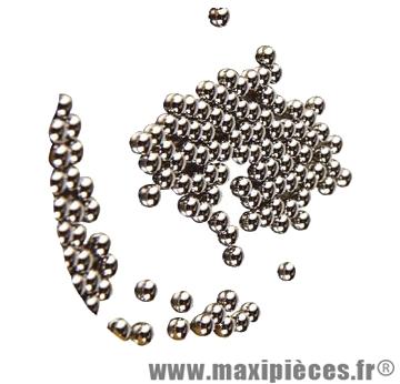 Bille d4.76 (1 grosse) 144 billes - Accessoire Vélo Pas Cher