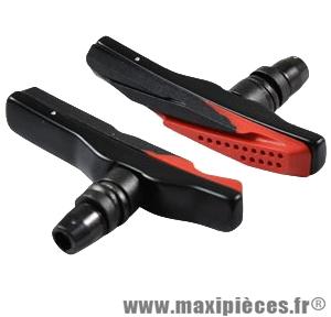 Porte patin VTT a vis v-brake style xt/xtr asymétrique a cartouche (paire) marque Atoo - Matériel pour Vélo