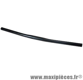 Cintre VTT droit acier d25.4 noir - Accessoire Vélo Pas Cher