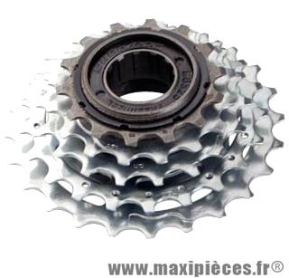 Roue libre 5  vitesses 14-28 dents indexée marque Sunrace - Matériel pour Vélo
