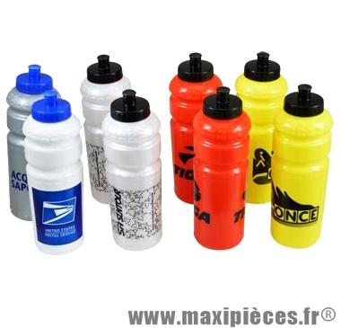 Bidon marques assorties 800ml (x8) - Accessoire Vélo Pas Cher