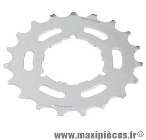 Rondelle pignon métallique crantée marque Shimano - Matériel pour Vélo