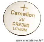 Pile lithium 3v cr2320 (par 1) - Accessoire Vélo Pas Cher