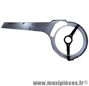 Carter chaine mini wing 42-46d. fume transparent - Accessoire Vélo Pas Cher