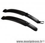 Garde boue VTT 24/26/28 pouces clips v-brake noir (paire) marque Atoo - Matériel pour Vélo