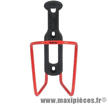 Porte bidon alu/plast 124 d5 rouge marque Zéfal - Matériel pour Cycle