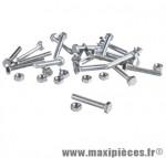 Boulon 6 pans 5 x 25 (boite de 100) - Accessoire Vélo Pas Cher
