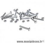 Boulon 6 pans 6 x 40 (boite de 100) - Accessoire Vélo Pas Cher