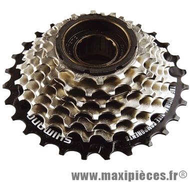 Roue libre 7  vitesses hg 14-28 dents (ty22) marque Shimano - Matériel pour Vélo