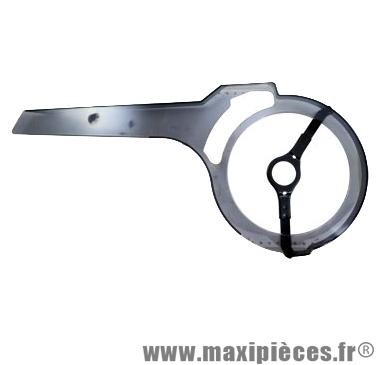 Carter chaine masterpla 48-52d. fume transparent - Accessoire Vélo Pas Cher