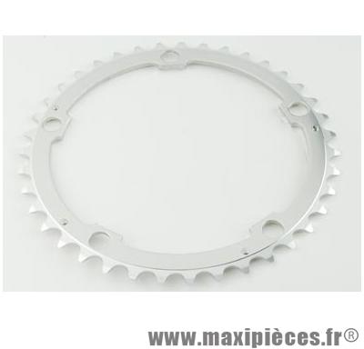 Plateau 40 dents route diamètre 135 interm argent vento (comp.campa) marque Spécialités TA - Matériel pour Vélo