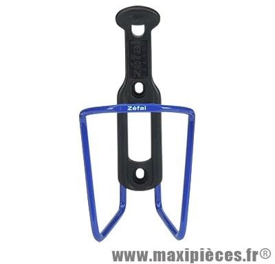 Porte bidon alu/plast 124 d5 bleu marque Zéfal - Matériel pour Cycle