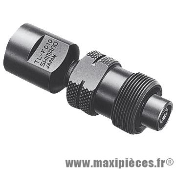 Arrache manivelle standard origine tlfc10 (axe carre/octalink/isis) marque Shimano - Matériel pour Vélo