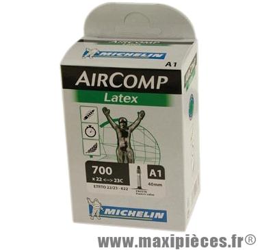Chambre à air de route 700x22/23 vp a1 latex (28-4m) marque Michelin - Pièce Vélo