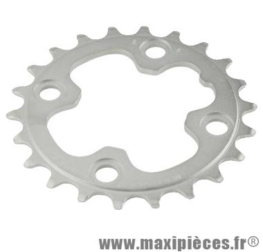 Plateau 22 dents VTT triple diamètre 64 intérieur noir 4 branches origine slx m660/xt m750-m marque Shimano - Matériel pour Vélo
