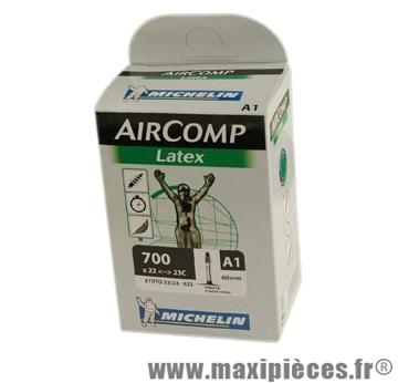 Chambre à air de route 700x22/23 vp a1 latex (28-4m) valve 60mm marque Michelin - Pièce Vélo