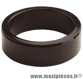 Entretoise ahead-set 1 pouce 1/8 5mm noire 28.6 mm ext. marque Atoo - Matériel pour Vélo