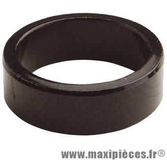 Entretoise ahead-set 1 pouce 1/8 10mm noire 28.6 mm ext. marque Atoo - Matériel pour Vélo