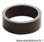 Entretoise de direction Atoo 5 mm en carbone noir pivot fourche 1'' *Prix spécial !