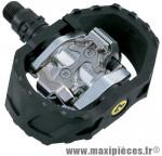 Pédale VTT auto spd loisir m424 + BMX (paire) marque Shimano - Matériel pour Vélo
