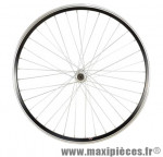 Roue VTT 24 pouces avant blocage alu noir - Accessoire Vélo Pas Cher
