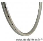 Jante VTC 700x32/35 exe argent 36t. double paroi marque Mach1 - Matériel pour Cycle