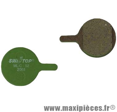 Plaquettes de frein organique SwissStop Disc 2 compatible MAGURA Louise / Clara 2000 pour VTT *Prix spécial !