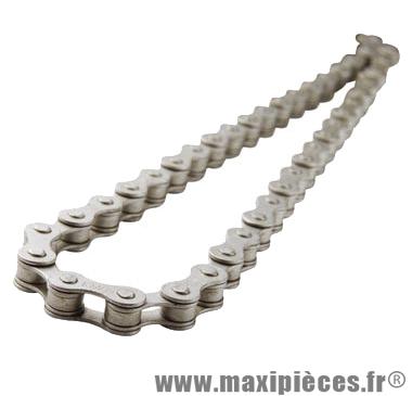 Chaine vélo 1/3v. syrb anti-rouille grise 112m marque KMC - Pièce Vélo