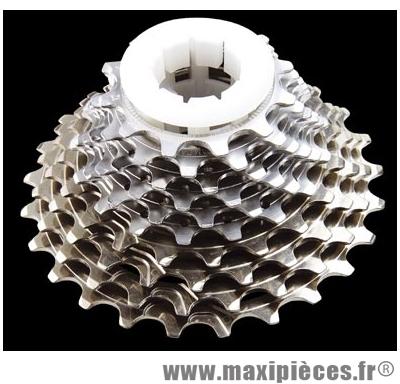Cassette 10 vitesses record ud 12-25 dents acier/titane marque Campagnolo - Pièce Vélo