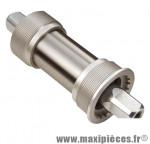 Prix spécial ! Boîtier de pédalier Stronglight JP 400 axe carré JIS 122 mm fil. italien 70 mm cuvettes aluminium