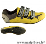 Chaussure route gaerne bora jaune t42 (paire) - Accessoire Vélo Pas Cher pour cycliste