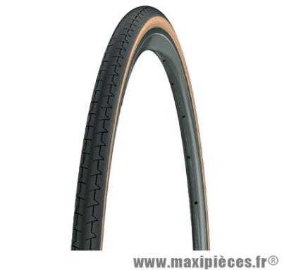 Pneu pour vélo de route 700x23 tr dynamic classic sw beige/noir (23-622) marque Michelin - Pièce Vélo