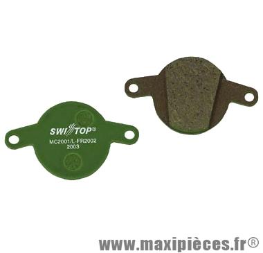 Plaquettes de frein organique SwissStop DISC 3 compatible Magura Clara 2001 / Louise FR 2002 pour VTT *Prix spécial !