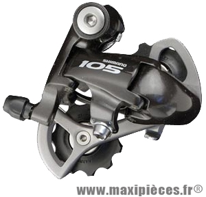 Der route arrière 105 5701 9/10v. dble noir marque Shimano - Matériel pour Vélo