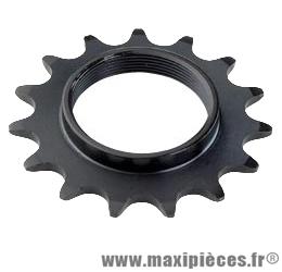 Pignon fixie/piste 15 dents marque Shimano - Matériel pour Vélo