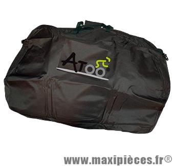 Housse vélo de transport vélo renforcée compartiment 2 roues et separa marque Atoo - Matériel pour Vélo