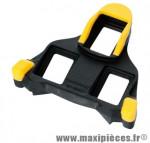 Cale pédale route dura-ace/ultegra/105spd-sl mobile+ jaune (paire) marque Shimano - Matériel pour Vélo