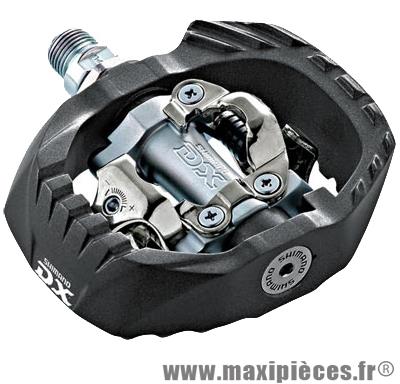 Pédale VTT auto spd dh m647 + BMX (paire) marque Shimano - Matériel pour Vélo