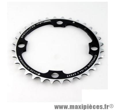 Plateau 36 dents VTT triple diamètre 104 interm noir 4 branches chinook (lx/xt/deore) marque Spécialités TA - Matériel pour Vélo