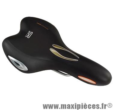 Selle route/VTT look'in athletic homme noir marque Selle Royal - Pièce Vélo